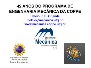 RESUMO Universidade Federal do Rio de Janeiro Escola Politécnica da UFRJ COPPE/UFRJ