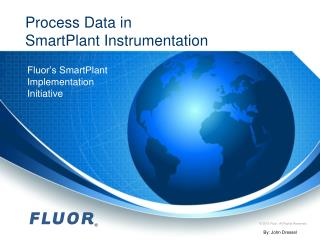 Process Data in  SmartPlant Instrumentation