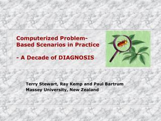Computerized Problem-Based Scenarios in Practice - A Decade of DIAGNOSIS