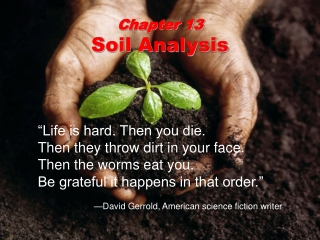Physical Properties of Soil-Chapter 4