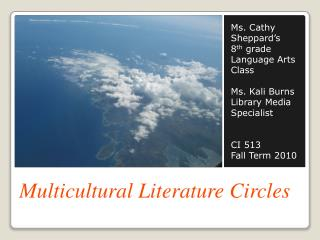 Multicultural Literature Circles
