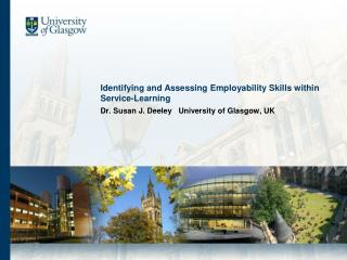 Identifying and Assessing Employability Skills within Service-Learning