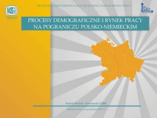 I.Procesy demograficzne 1. Dane krajowe: Ludność w latach 2000 – 2010.