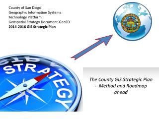County of San Diego Geographic Information Systems Technology Platform