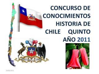 Algunos productos de origen chileno fueron: