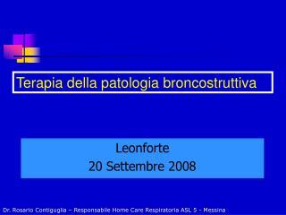 Leonforte 20 Settembre 2008
