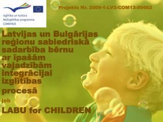 LABU for CHILDREN
