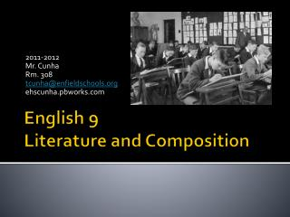 English 9 Literature and Composition