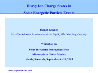 Heavy Ion Charge States in  Solar Energetic Particle Events