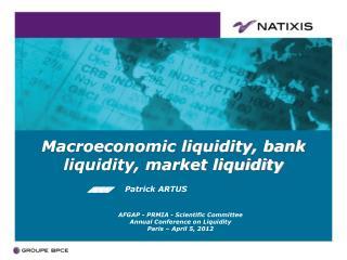 Macroeconomic liquidity, bank liquidity, market liquidity
