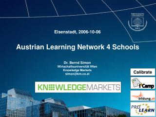 Austrian Learning Network 4 Schools