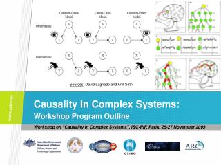 Causality In Complex Systems: Workshop Program Outline