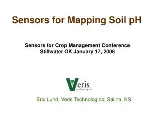 Sensors for Mapping Soil pH