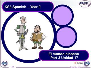KS3 Spanish – Year 9
