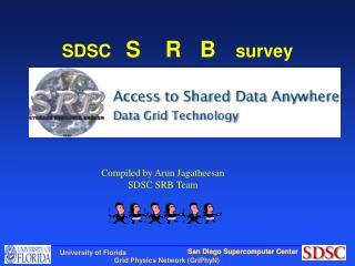 SDSC    S    R   B     survey