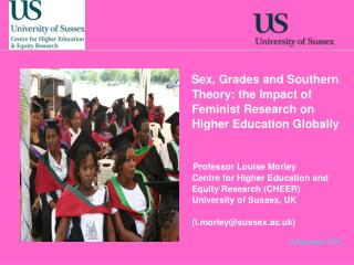 Sex, Grades and Southern Theory: the Impact of Feminist Research on Higher Education Globally
