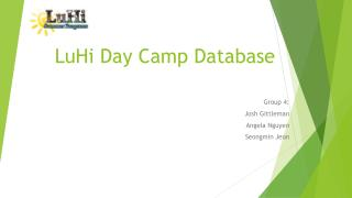 LuHi  Day Camp Database