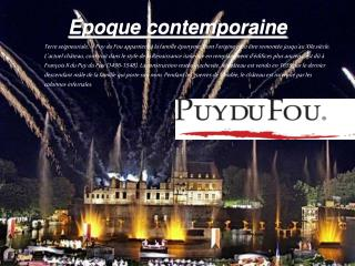�poque contemporaine