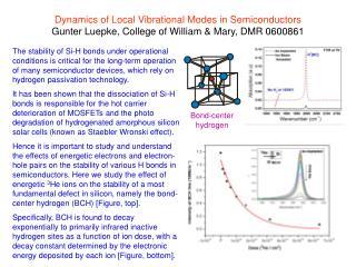 Bond-center hydrogen