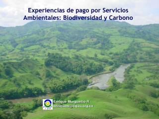 Experiencias de pago por Servicios Ambientales: Biodiversidad y Carbono