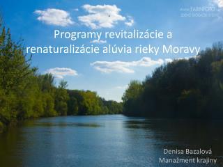 Programy revitalizácie a renaturalizácie alúvia rieky Moravy