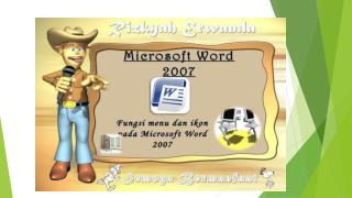 MICROSOFT WORD 2007:  Fungsi  Icon Tab Home AGU 14 Posted by  Mohammad  Roqib