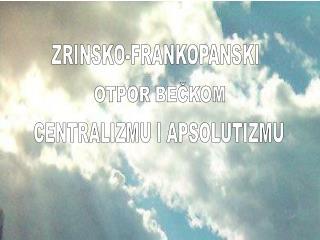 ZRINSKO-FRANKOPANSKI