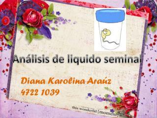 Análisis de liquido seminal