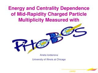 Energy and Centrality Dependence  of Mid-Rapidity Charged Particle Multiplicity Measured with