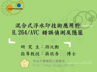 ??????????? H.264/AVC  ???????