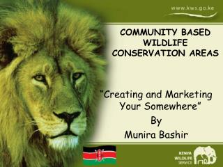 �Creating and Marketing Your Somewhere� By  Munira Bashir