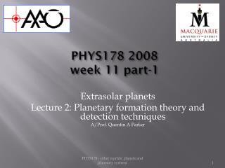 PHYS178 2008 week 11 part-1