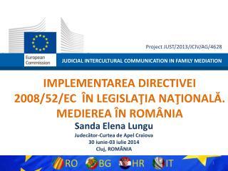 JUDICIAL INTERCULTURAL COMMUNICATION IN FAMILY MEDIATION