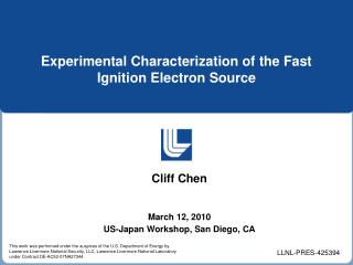 Experimental Characterization of the Fast Ignition Electron Source