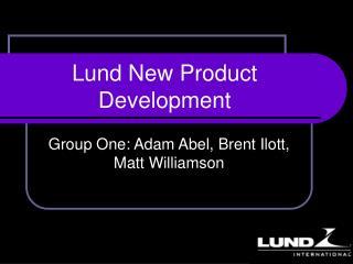 Lund New Product      Development