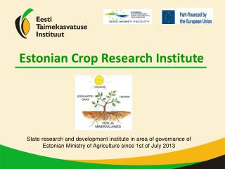 Estonian Crop Research Institute