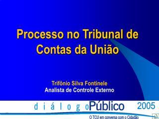 Processo no Tribunal de  Contas da União