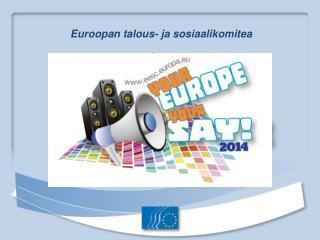 Euroopan talous- ja sosiaalikomitea