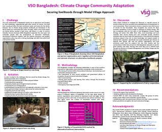 VSO Bangladesh: Climate Change Community Adaptation