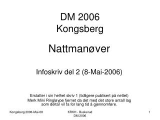 DM 2006 Kongsberg