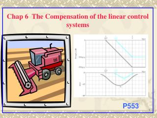 Chap 6  The Compensation of the linear control systems