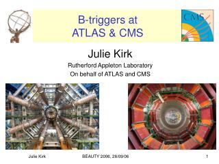 B-triggers at ATLAS & CMS