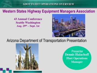 Dennis Halachoff Fleet Operations Manager