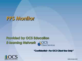 PPS Monitor