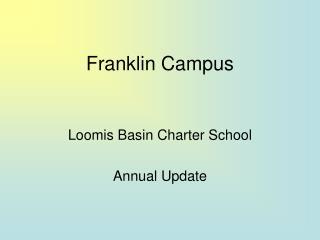 Franklin Campus