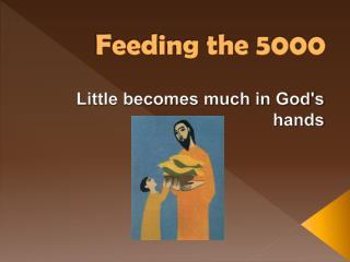 Feeding the 5000