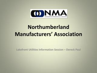Northumberland Manufacturers' Association