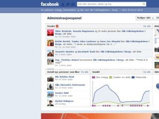 Man kan lage annonse for sin  Facebookside  ved å la den være destinasjonssiden