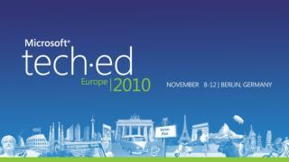 UNC305 Conferencing: Microsoft Lync Server 2010