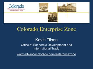 Colorado Enterprise Zone